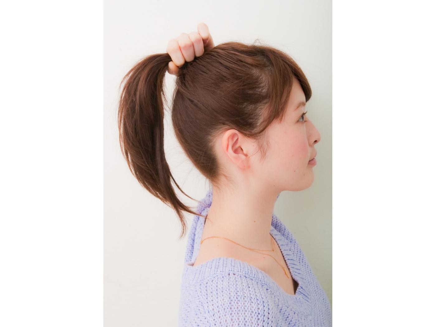 ボブでもポニーテールはできる!短いストレートの髪の毛を結ぶ方法は?のサムネイル画像