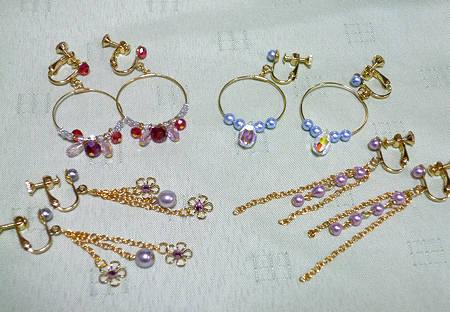 自分で手作り!かわいいイヤリングの作り方をご紹介します★のサムネイル画像