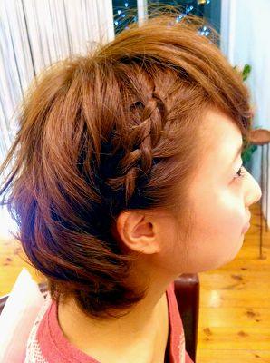 もう悩まない!今日から使える☆ショートヘアーのヘアアレンジ集のサムネイル画像