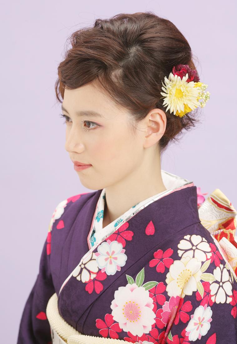 【日本女子】着物に似合うヘアスタイルであなたも今日から和服美人!のサムネイル画像