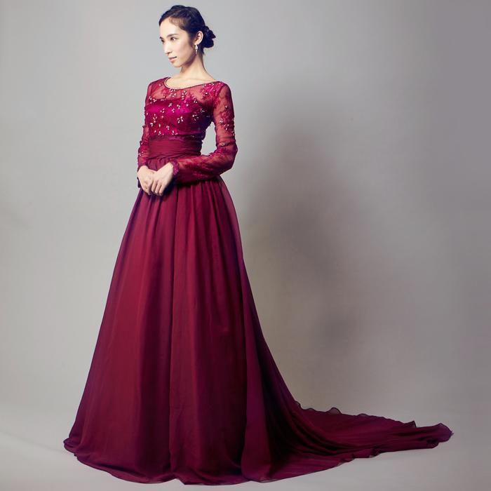 演奏会にはロングドレスが一番!ステージに華を咲かせましょう!のサムネイル画像