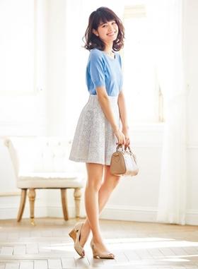 夏服のコーデはこれに決まり!夏服も可愛くコーデしてオシャレに!のサムネイル画像