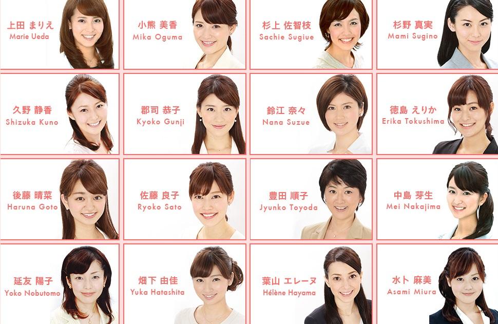 あの人気アナウンサーも在籍中の日本テレビのアナウンサーとは!?のサムネイル画像