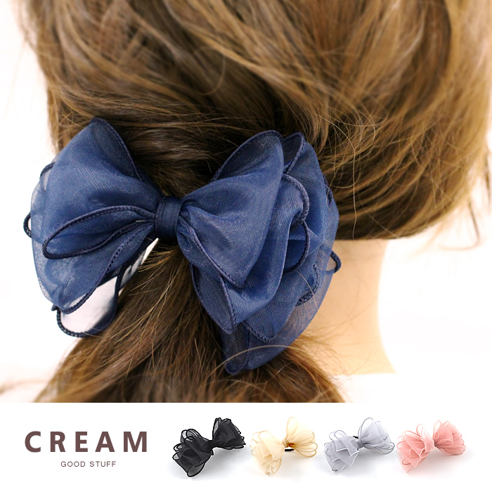 【大人かわいいおススメのヘアゴム10選】リボンヘアゴムでモテ髪に!のサムネイル画像