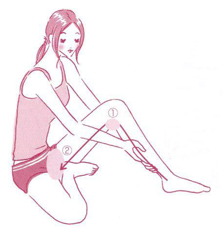 1分でできる!足のリンパマッサージで、全身を変えることができますのサムネイル画像