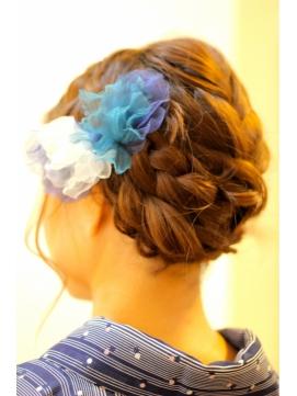 【2015年最新】カラートン別!着物に似合う髪型特集★【カタログ】のサムネイル画像