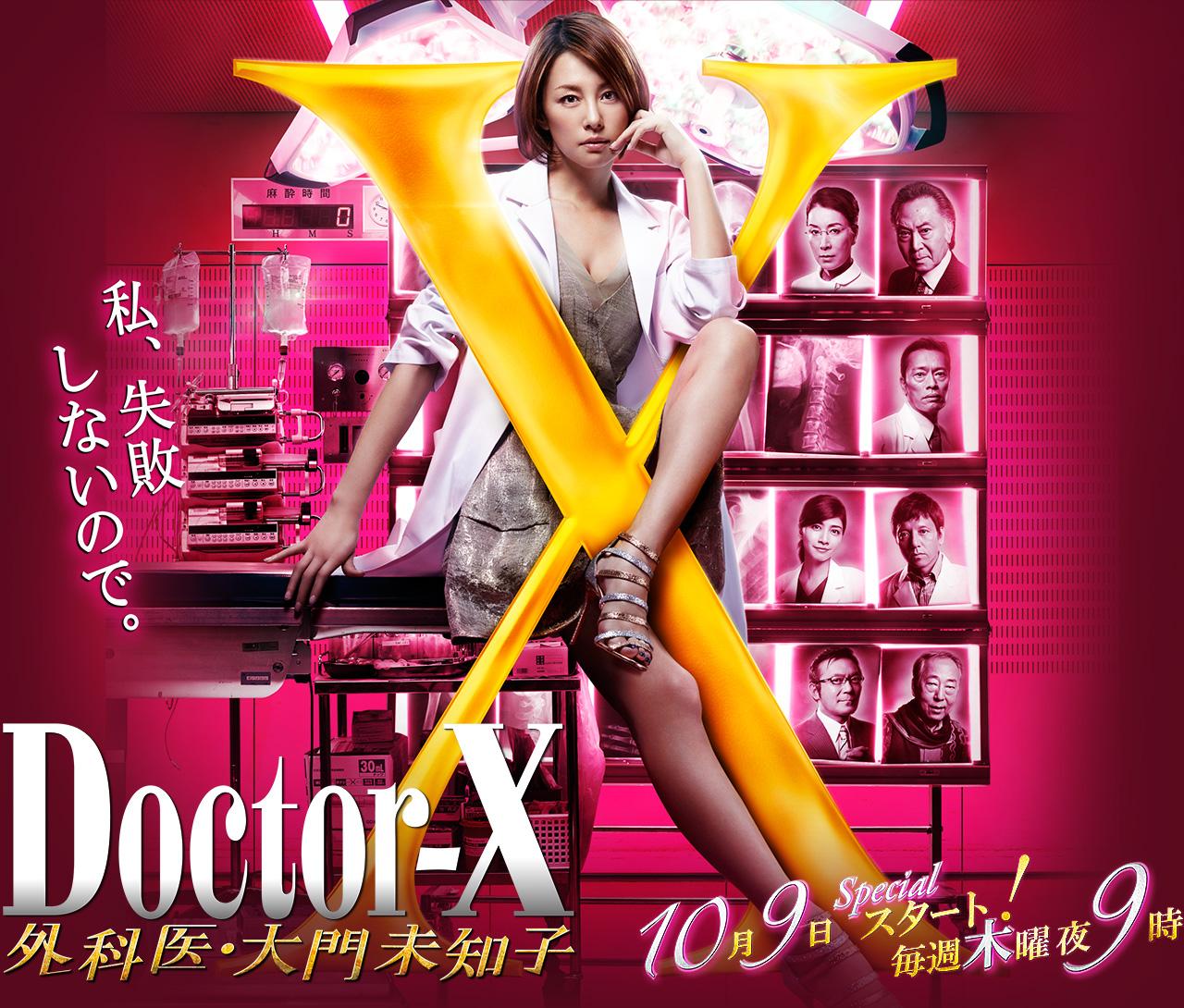 【画像あり】人気ドラマ、ドクターxのキャストを紹介します!のサムネイル画像