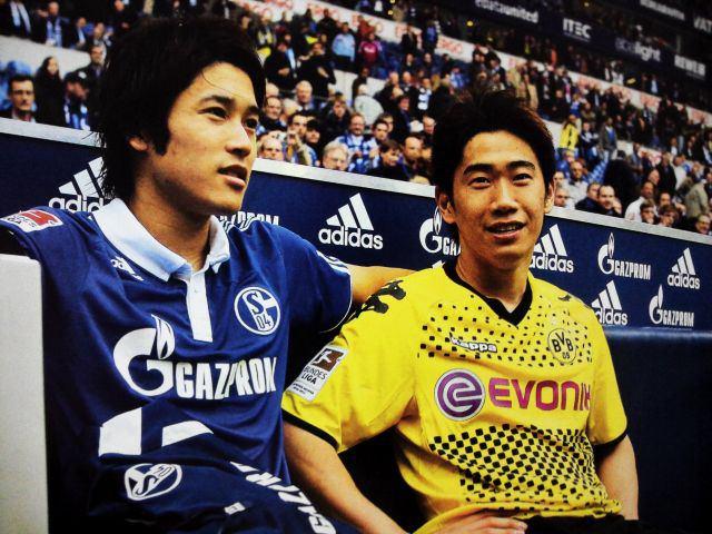 海外では双子扱い?!サッカー内田篤人と香川真司が仲良しすぎる!のサムネイル画像