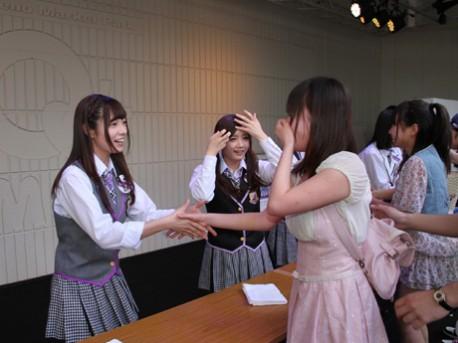 【注目】一度は行ってみたい!乃木坂46の握手会ってこんな感じ!のサムネイル画像