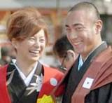 米倉涼子の元彼氏はあの人気歌舞伎役者の市川海老蔵だった!?のサムネイル画像