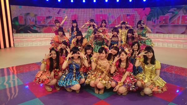 大人気アイドルnmb48、曲ごとのセンターは誰?振り返ってみよう♪のサムネイル画像