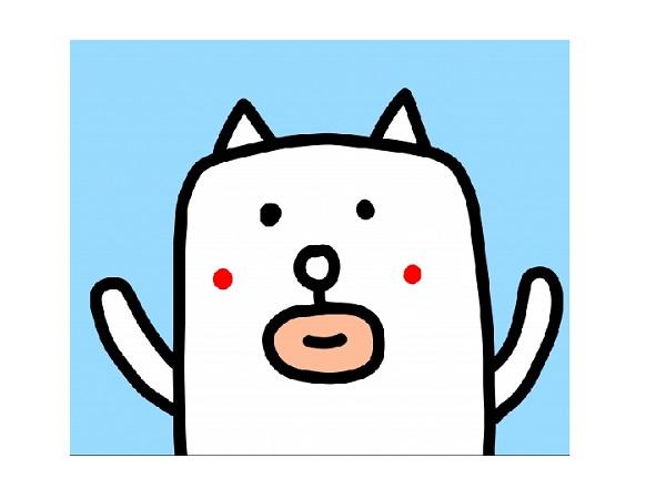 かっこいい犬が大ブレーク!ゆるカワな田辺誠一画伯によるスタンプ!のサムネイル画像