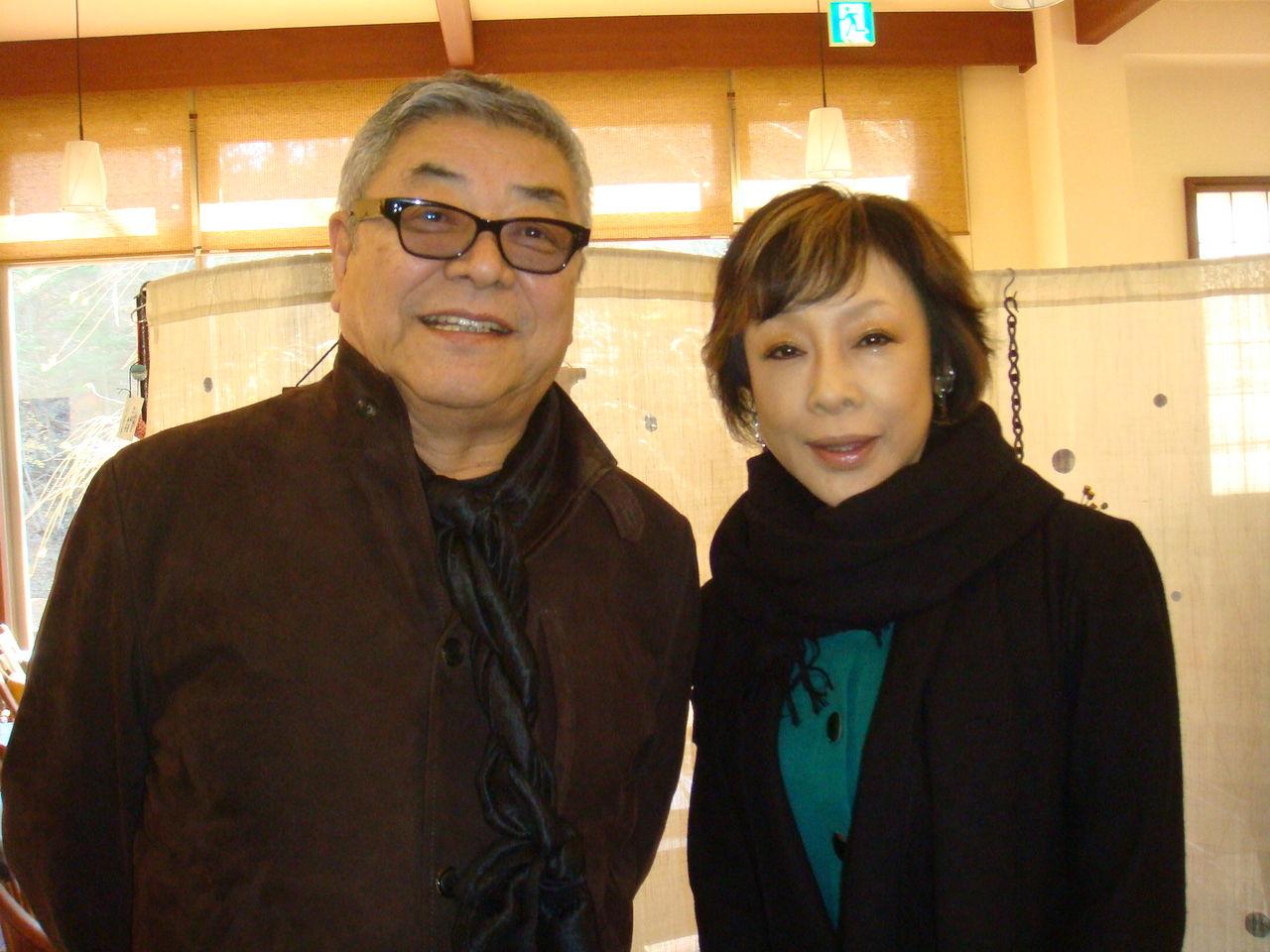 中尾彬の現在の妻は池波志乃!前妻は実はあの女優だった!?のサムネイル画像