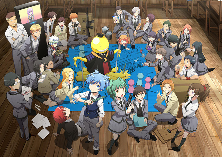 7月に最終巻21巻が発売の大人気コミック「暗殺教室」ってこんな作品のサムネイル画像