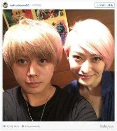 微笑ましい~。憧れの姉弟♪ 山田優、弟の親太朗と仲が良すぎっ!!の画像