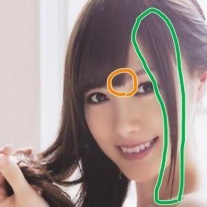 ☆乃木坂46☆白石麻衣さんの前髪と髪型を集めて見ました!の画像