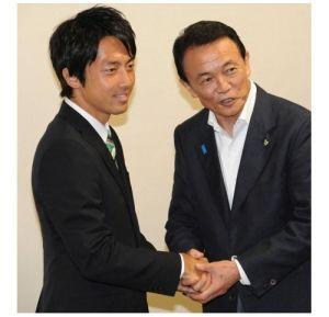 小泉進次郎の身長はどのくらい?純一郎、孝太郎よりも背が高い?の画像