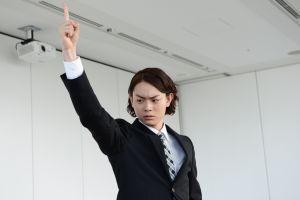 菅田将暉の民王出演時の髪型