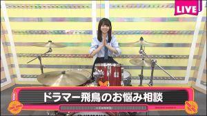 乃木坂46の齋藤飛鳥さんはドラムが叩けてその腕前も凄いって本当?の画像
