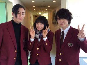 ドラマ「学校のカイダン」に出演した広瀬すずの髪型