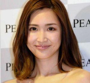 紗栄子の顔アップ画像