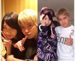 【衝撃】ラブラブ写真流出!!AKB48の柏木由紀と手越祐也が熱愛!?の画像