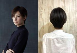 美しすぎる!北川景子のショートヘア!美髪の秘訣は?の画像