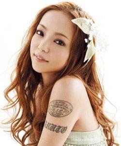安室奈美恵タトゥーに込められた感動的な思い。消した理由も解説!の画像