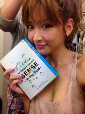 メイクバッチリの紗栄子の画像