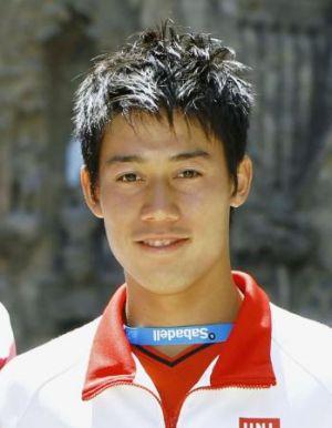 いまや世界的なアスリート、錦織圭選手。髪型いろいろ変えてました。の画像