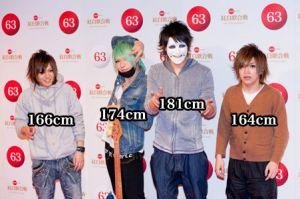 鬼龍院翔と他有名人との身長を比較してみよう!