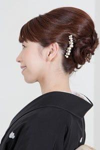 【50代女性に最適】留袖に似合う若々しい髪型夜会巻き