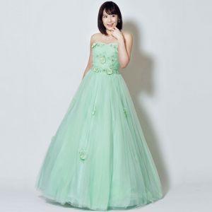 演奏会にはロングドレスが一番!ステージに華を咲かせましょう!の画像